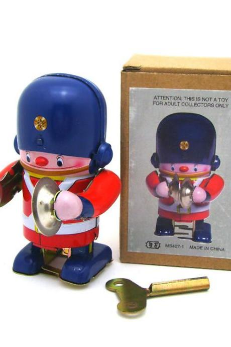 MS407-3 Tin Drum Robot Adult Collectible Toy Creative Gifts Tin Toy Wholesale