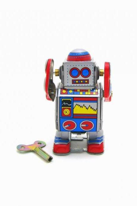 MS235 Tin Tiny Robot Tintoy Adult Collection Toy Creative Gift