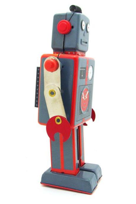 MS384 Antenna Robot Adult Collectible Toy Photography Props Creative Gifts Tin Toy Wholesale