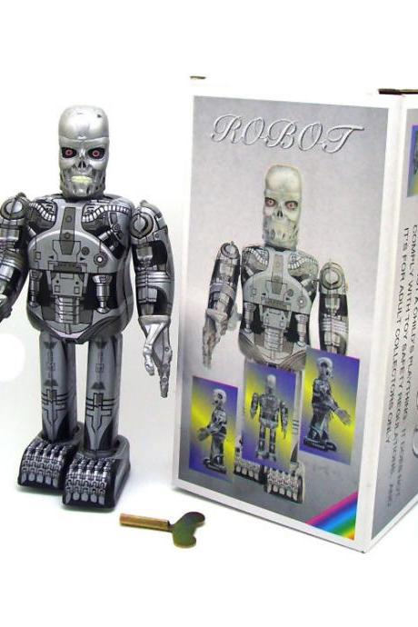 MS288 Terminator Robot Adult Collectible Toy Creative Gift tintoy Tin Toy Wholesale