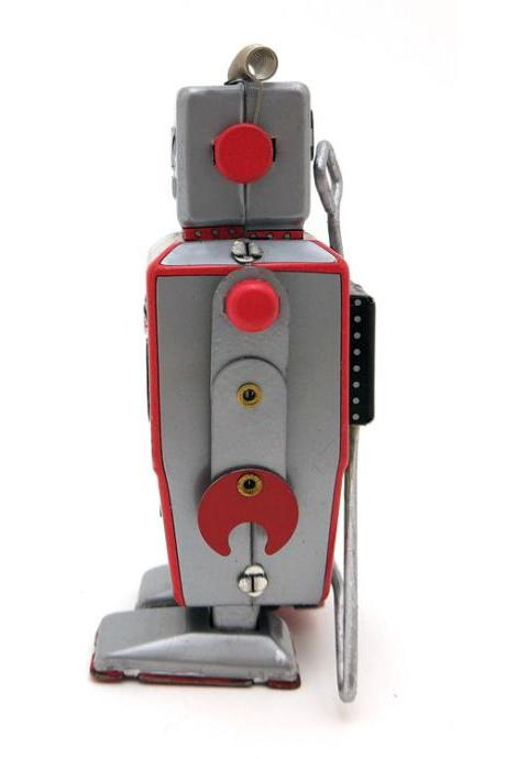 MS502A Feet Robot Adult Collectible Toy Creative Gift Tintoy Tin Toy Wholesale