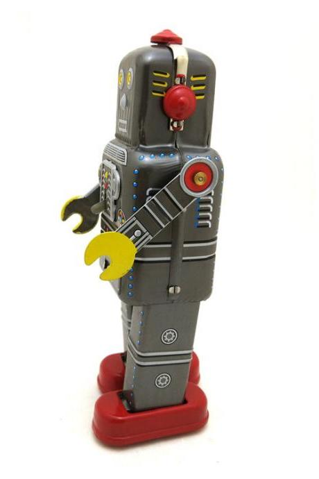 MS439 Space Robot Showcase Decoration Creative Gifts tintoy Wholesale Tin Toys