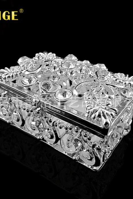 Promotion Gifts Reward Customers Points Redemption Promotions Creative Gifts Silver Plated Crafts Jewellery Boxes